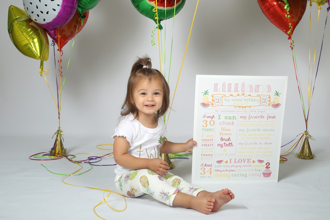 Two Year Old Photo Shoot