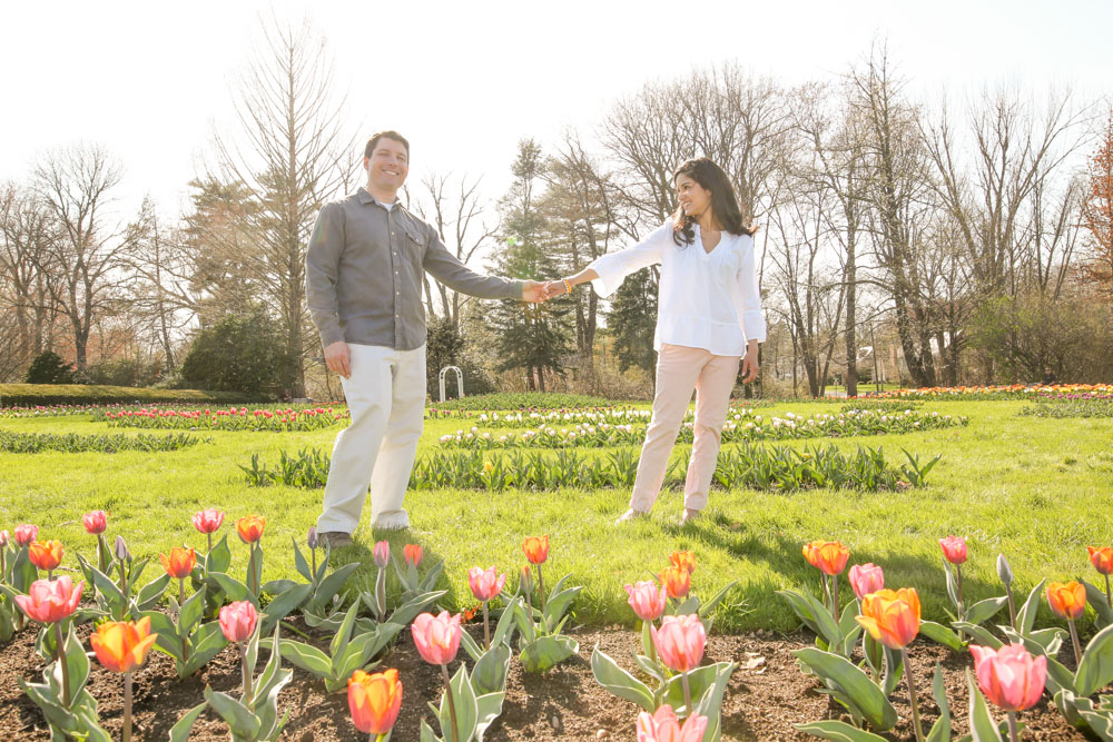 Elizabeth Park Engagement Shoot