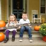 Fall & Halloween Family Portrait