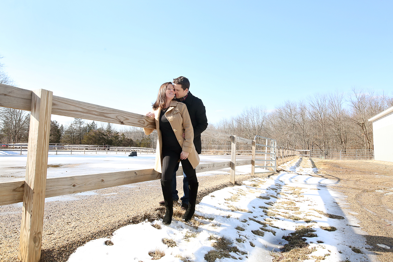 Horse Stable Engagement Shoot
