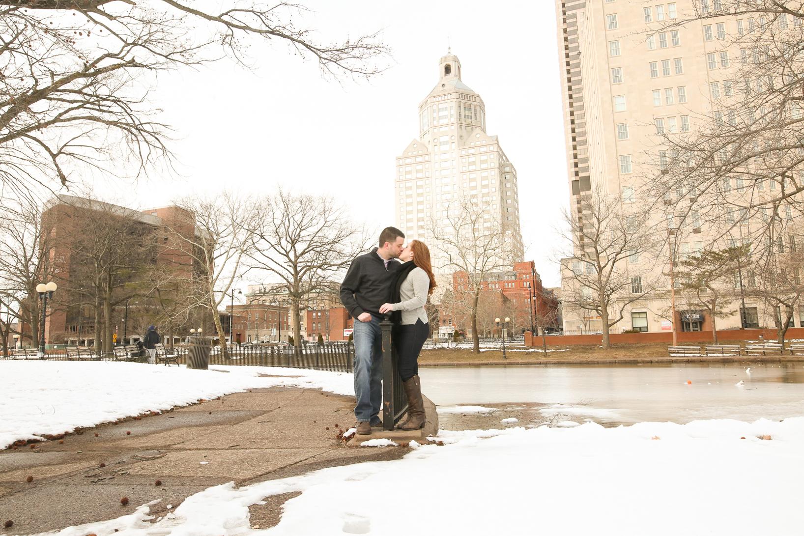 Downtown Hartford Engagement Shoot