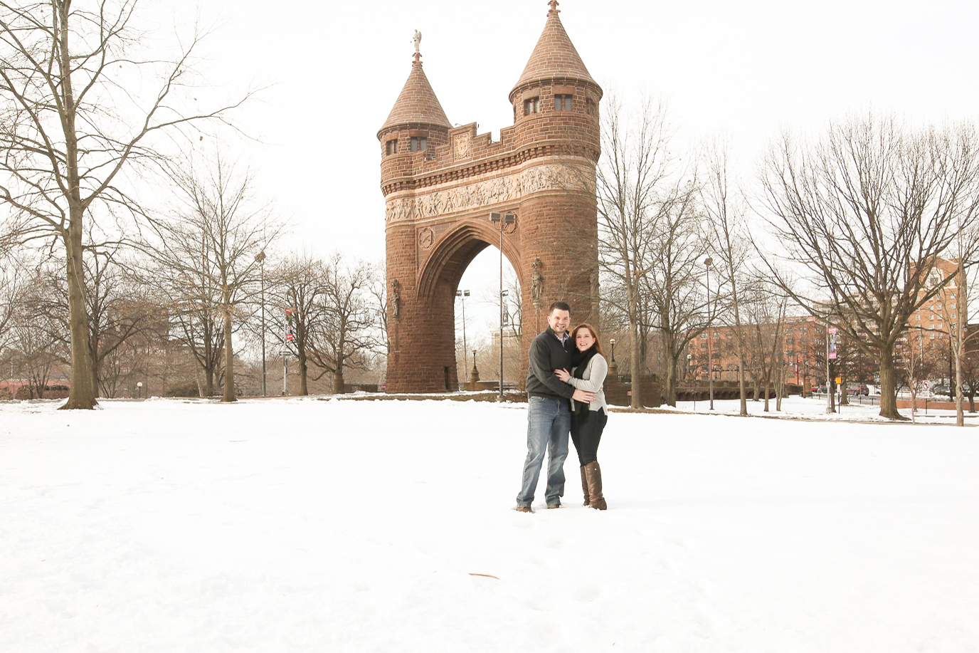 Downtown Hartford Engagement Shoot