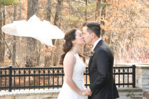 Winter Pond House Wedding