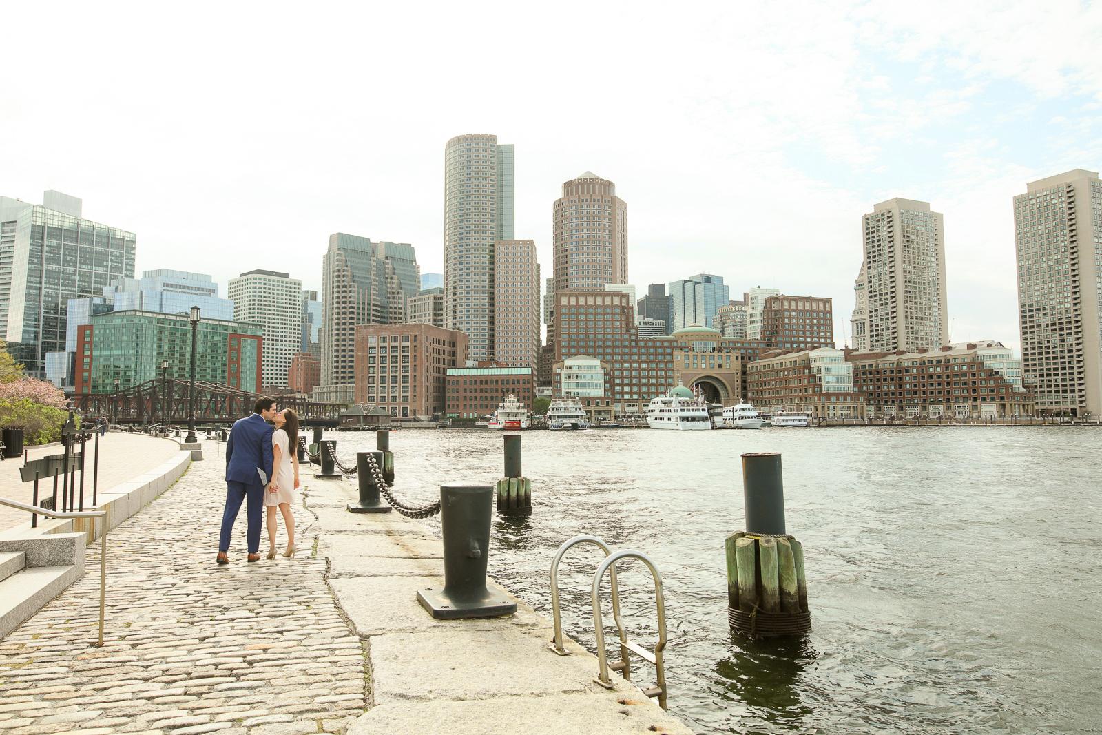Boston Engagement Shoot