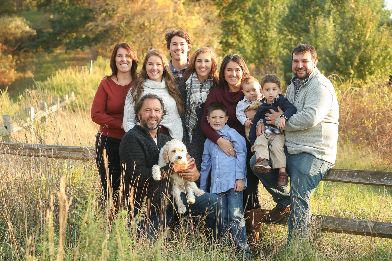 Longo Farm Fall Family Portrait