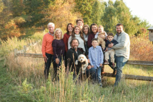 Longo Farm Fall Family Portrait